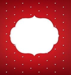 Elegant Dotted Invitation Background vector image