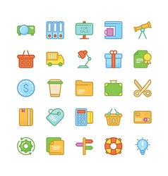 Business icons 8 vector