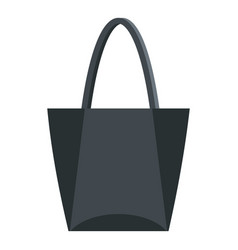 big bag icon isolated vector image