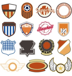 Sport badges vector