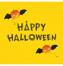Happy halloween theme vector