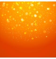 Abstract magic bokeh background vector image