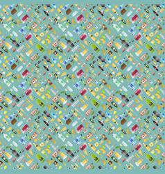 Drinks pattern vector