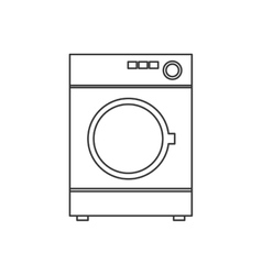 washer house technology appliance icon vector image