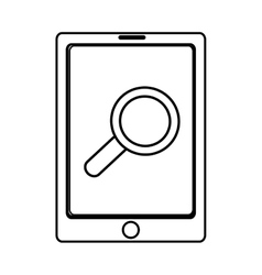 Electronic device with lens on the screen vector