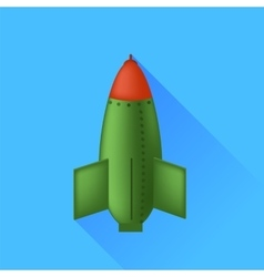 Single Bomb vector image
