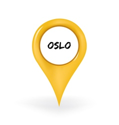 Location oslo vector