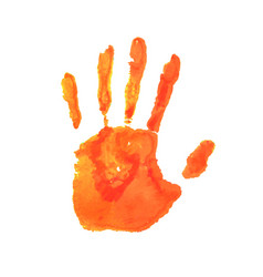 art hand paint vector image vector image