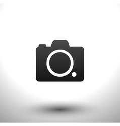 Icon camera vector image vector image