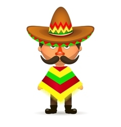 Mexican hat sombrero vector