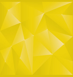 Polygonnal gold background vector