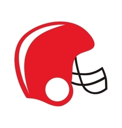 american football helmet icon image vector image