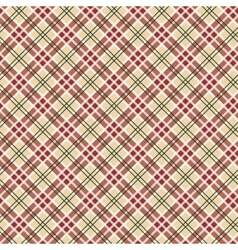Scottish checked ornament seamless pattern vector