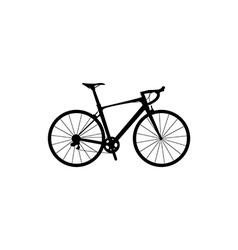 bicycle symbol vector image