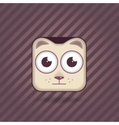 App icon cat vector