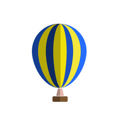 hot air balloon icon cartoon of hot vector image