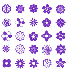 purlpe set vector image vector image