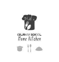 restaurant logo template vector image