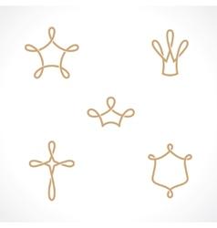 Royal symbols vector