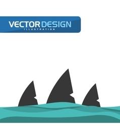 Shark icon design vector