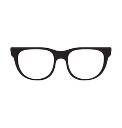 Glasses accessory icon vector