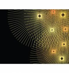 line bursts vector image