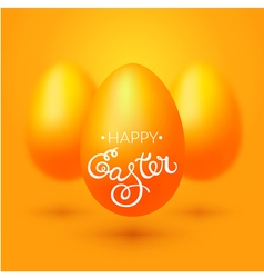 Greeting card with easter blessings vector