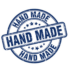 Hand made stamp vector