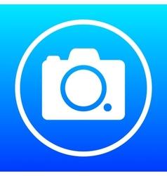 Icon camera vector image vector image