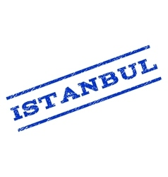 Istanbul watermark stamp vector