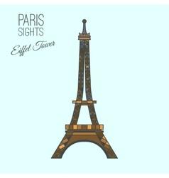 Paris Travel 17 A vector image