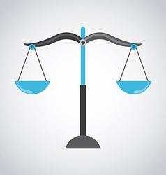 Balance icon vector