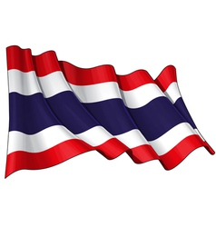 Thailand Flag vector image vector image