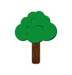 Tree plant nature season icon graphic vector