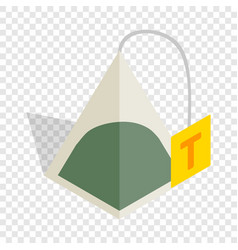 teabag isometric icon vector image