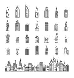 City builder vector