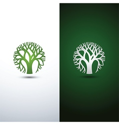 Tree logo 2 vector