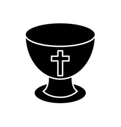 holy grail icon vector image vector image
