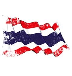 Thailand Flag Grunge vector image