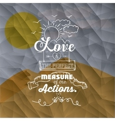 motivational poster message design vector image
