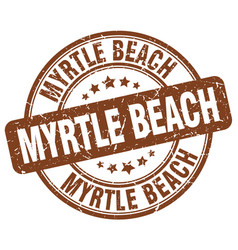 Myrtle beach vector