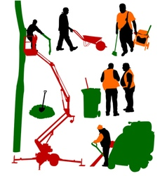 Workspeople-3 vector