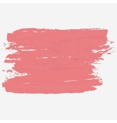 Brush strokes hand paint texture vector