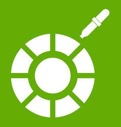 Color picker icon green vector