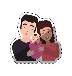 people relationships and family vector image