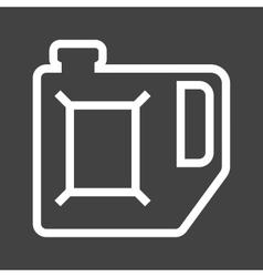 Petrol can vector