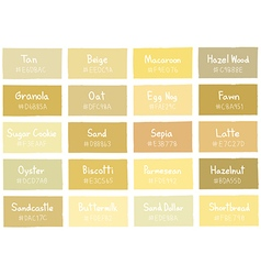Tan tone color shade background with code vector