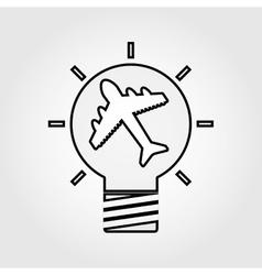 Best idea icon design vector