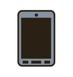 Cartoon smartphone technology communication call vector