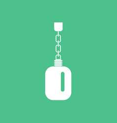 Icon soldier water bottle vector